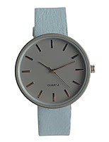Women's Fashion Watch Japanese Quartz / PU Band Elegant Casual Blue Pink