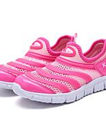 Fille Chaussures d'Athlétisme Confort Tulle Printemps Automne Décontracté Course à Pied Confort Combinaison Talon PlatBleu de minuit Rose