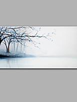Handgemalte Landschaft Horizontal,Moderne Ein Panel Hang-Ölgemälde For Haus Dekoration