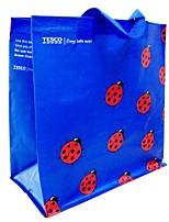 Women Tote Plastic All Seasons Casual Shopper Without Zipper Blue