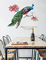 Animales 3D Pegatinas de pared Calcomanías de Aviones para Pared Calcomanías Decorativas de Pared Material Decoración hogareñaVinilos