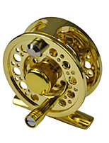 Little Fly Fishing Reel Ultra light Left Right hand 3/4 60mm Dia. Gold G60