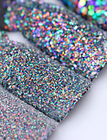 Colorful Shining Nail Glitter Sequins 3g Hexagon Flakies Powder Dust 0.15mm-1mm Manicure Nail Art Decoration