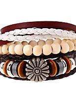 Retro Folk Style Multi-Layer Woven Beads Bracelet