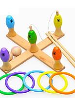 Набор для творчества Рыболовные игрушки Для получения подарка Конструкторы Оригинальные и забавные игрушки Дерево2-4 года 5-7 лет 8-13