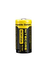 2pcs bateria recarregável 18650 li-ião nitecore nl166 650mAh 3.7v 2.4wh