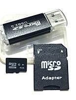 4gb microsdhc tf Speicherkarte mit USB-Kartenleser und sdhc sd Adapter