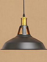 Lampe suspendue ,  Retro Rustique Peintures Fonctionnalité for Style mini Designers MétalSalle de séjour Salle à manger Bureau/Bureau de
