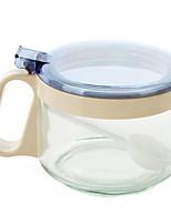 Home Glass Seasoning Box Set Kitchenware Seasoning Tank Spice Bottle