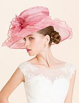 אורגנזה כיסוי ראש-חתונה אירוע מיוחד קז'ואל משרד וקריירה כובעים חלק 1