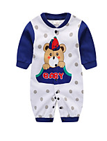 Baby Others One-Pieces,Cotton All Seasons Long Sleeve