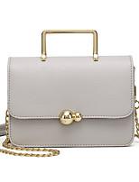 L.WEST Women's The Chain Small Box Shoulder Bag