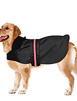 Cachorro Capa de Chuva Roupas para Cães Festa Casual Prova-de-Água Esportes Sólido Cor Aleatória