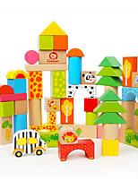 Kit de Bricolaje Para regalo Bloques de Construcción Rectangular Cuadrado Juguetes