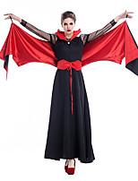 Cosplay Kostüme Bat/Fledermaus Engel & Teufel Vampire Film Cosplay Halloween Karneval Silvester Frau Terylen