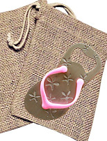 Flip Flop Bottle Opener in Burlap Bag Wedding Favors Beter Gifts® Party Supplies