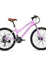 Mountain Bike Cycling 21 Speed 26 Inch/700CC Double Disc Brake Suspension Fork Aluminium Alloy Frame Hard-tail FrameAnti-slip Aluminium