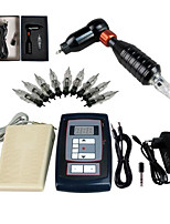High Level Tattoo Kit Zebra With Digital Power Cord Inks Switch G1I164-B1 Random Color