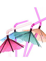 Party/ Evening Night out&Special occasion Casual/Daily Party/Cocktail Club Party/Cocktail Bar Drinkware 50 PP Juice Smoothie Straws(50 Straws)