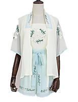Austattungen Wa Vintage Inspirationen Cosplay Lolita Kleider Vintage Kurz / Mini Zum