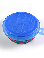 Pet Three Layer Food Cover Cute Style Tableware Dog Bowl Accessories Plastic Canned lid Pet Products