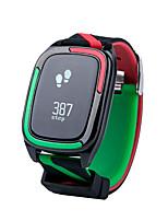 Смарт-браслет Защита от влаги Длительное время ожидания Израсходовано калорий Педометры Пульсомер Измерение кровяного давления Информация