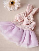 Платья Одежда для собак Очаровательный На каждый день Мода Принцесса Розовый