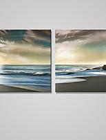 Отпечатки на холсте Пейзаж Modern Классика,2 панели Холст Квадратная Печать Искусство Декор стены For Украшение дома
