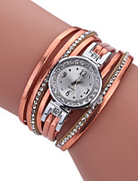 Mulheres Relógio de Moda Bracele Relógio Único Criativo relógio Relógio Casual Quartzo PU BandaPendente Legal Casual Criativo Luxuoso