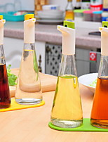 Controlled Oil Seasoning Bottle Kitchen Glass Seasoning Tank Set