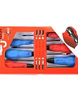 Jtech 6 Piece Soft Handle Screwdriver Kit /1 Set