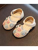Девочки На плокой подошве Обувь для малышей Дерматин Весна Осень Для прогулок Повседневный Для прогулок На липучках На низком каблуке