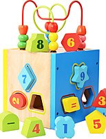 Building Blocks For Gift  Building Blocks Model & Building Toy Square Wood 2 to 4 Years 5 to 7 Years Toys