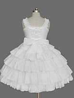 Women's Lolita Dress Cosplay Girl Dress Classic/Traditional Lolita Elegant Princess Cosplay Lolita Dress Fashion  Sleeveless Short / MiniTuxedo