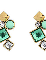 Euramerican Fashion Personalized Irregular Geometric Stud Earrings Lady Party Stud Earrings Statement Jewelry