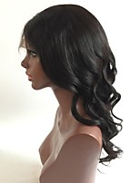 Hot Sale Brazilian Virgin Hair Glueless Full Lace Human Hair Wigs with Baby Hair Wavy Human Hair 130% density can by dyed