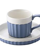 Copo de café de estilo europeu, simples, criativo, conjunto de chá, caneca de café, define canecas de cerâmica caseira