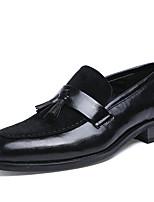 Для мужчин Туфли на шнуровке Баллок обувь Формальная обувь Кожа Весна Лето Осень Зима Свадьба Повседневный Для вечеринки / ужинаДля