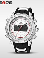 Men's Sport Watch Dress Watch Fashion Watch Digital Watch Japanese Quartz DigitalCalendar Water Resistant / Water Proof Dual Time Zones