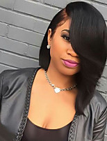 New Fahion Brazilian Virgin Hair Bob Wigs Straight Full Lace Human Hair Wig Short Virgin Hair Bob Wig for Woman