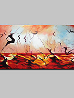 Ручная роспись фантазия Горизонтальная,Modern Европейский стиль 1 панель Холст Hang-роспись маслом For Украшение дома