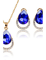 Jewelry Set Pendant Necklaces Bridal Jewelry Sets AAA Cubic Zirconia Euramerican Fashion Simple Style ClassicCubic Zirconia Rhinestone