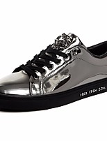 Men's Sneakers Comfort Tulle Leatherette Spring Casual Blue Silver Black Gold Flat