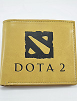 Fashion Men's DOTA2 Change Purses PU All Seasons Daily Casual Party & Evening Baguette Without Zipper