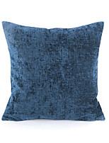 Chenille Pillow Case-Blue