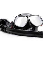 Diving Masks Snorkels Protective Diving / Snorkeling Aluminium Alloy 100% standard food soft silicon Mixed Materials Eco PC