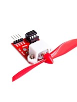 L9110 Fan Motor Control Module with Propeller for Arduino Firefighting Robot Design