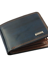Men Wallet Black Formal Card Holder Purse