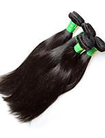 Novo cabelo humano remy indigena liso 400g 4pieces lote para uma cabeça verão descontos venda 100% virgem cabelo material pode mudar cor