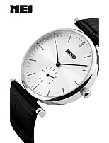 Women's Men's Luxury Men Casual Quartz Watch Leather Strap Men Sport Wristwatch Waterproof Clock